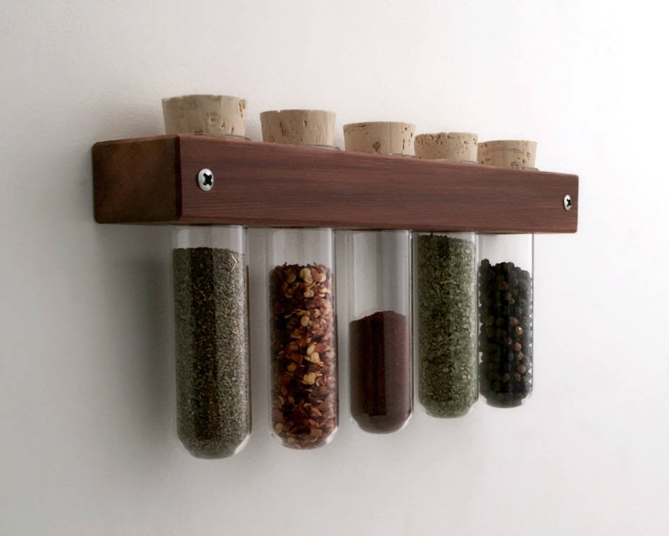 16 Practical Handmade Spice Rack Ideas That Will Help You Organize Your Kitchen