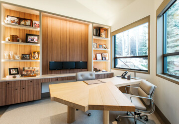 How to Design a Home Office You Actually Want to Work In - Storage, Space, personalize, light, Home office, furniture, color