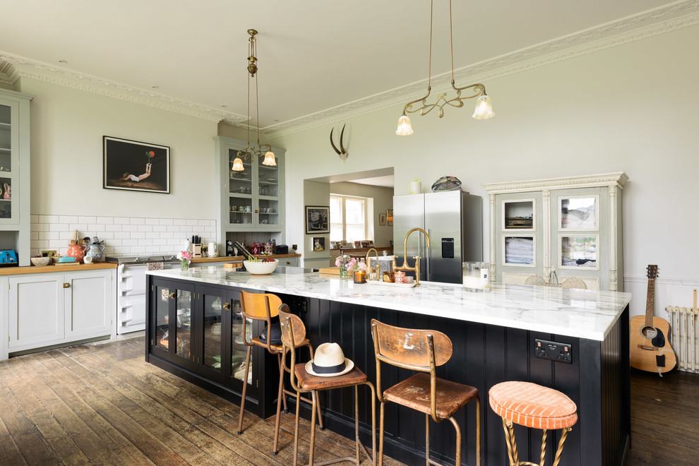 17 Bespoke Eclectic Kitchen Interiors That Will Make Your Jaw Drop