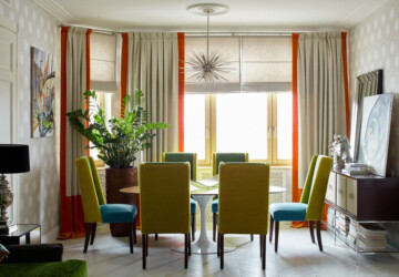 17 Outstanding Eclectic Dining Room Designs You'll Love - table, room, interior, eclectic dining room, eclectic, Dining Table, dining room, dining, chic, chair, boho