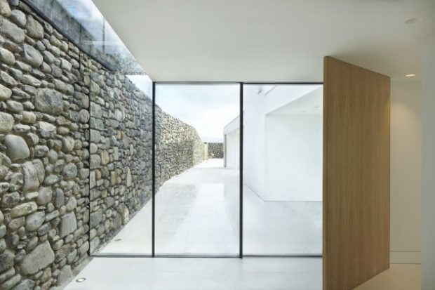 Cefn Castell House   A Modern Cliffside Residence by Stephenson Studio in Wales