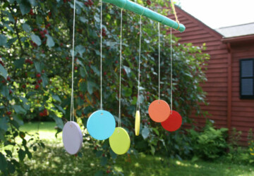 17 Amazing DIY Wind Chime Ideas for Relaxing Outdoor Atmosphere - wind chimes, outdoor decor, garden decor, DIY Wind Chime