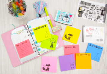 13 Creative Sticky Note Craft Ideas - Sticky Note Craft Ideas, Sticky Note, DIY ideas, crats