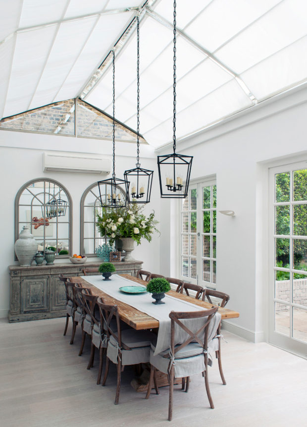 The Forgotten Charm Of The Conservatory In Your Home - windows, sunroom, sunlight, sun room, sun, room, roof blinds, orangery, natural light, light, Conservatory, blinds