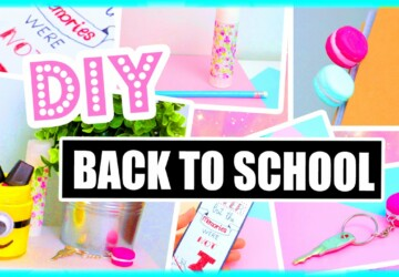 15 Great DIY Back to School Ideas - diy kids crafts, DIY Back to school, back to school diy ideas, Back to school