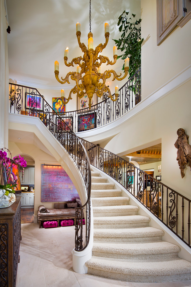 15 Beautiful Mediterranean Staircase Designs That Will Amaze You