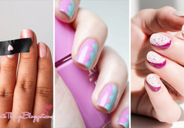 15 Game-changing Ways To Paint Your Nails In Creative Patterns - women, unique, tips, painting, paint, nails, nailart, nail, ideas, fashion, diy, art