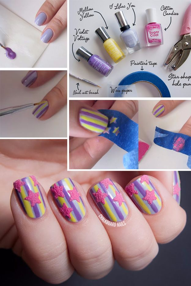 15 Game changing Ways To Paint Your Nails In Creative Patterns