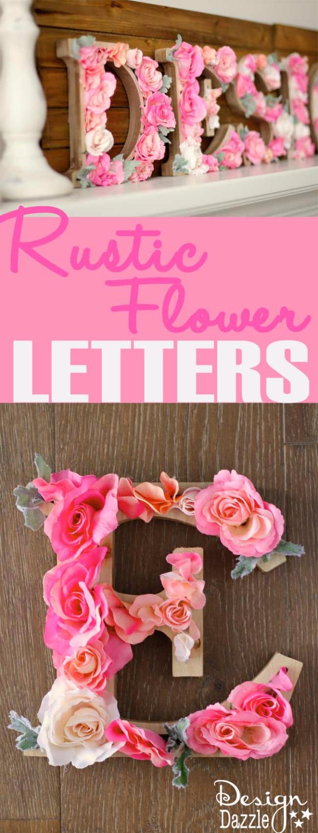15 Lovely DIY Ideas Of Words And Letters To Decorate With