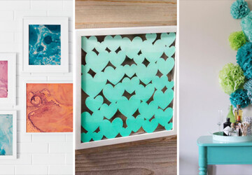 15 Super Creative DIY Wall Art Ideas That Will Expand Your Wall Decor - wall decor, wall art, wall, unique, handmade, diy, decorations, decor, creative, crafts, crafting, canvas, art