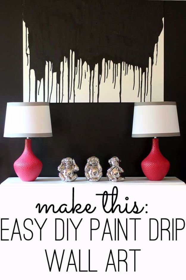 15 Best And Easy Diy Wall Art : Easy diy wall art super creative ideas