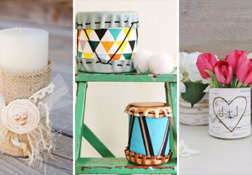 16 Amazingly Crafty DIY Tin Can Projects You Can Do In No Time - tutorials, tin can, tin, Projects, ideas, hacks, diy, crafty, crafts, crafting, can