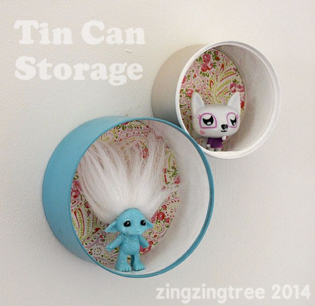 16 Amazingly Crafty DIY Tin Can Projects You Can Do In No Time