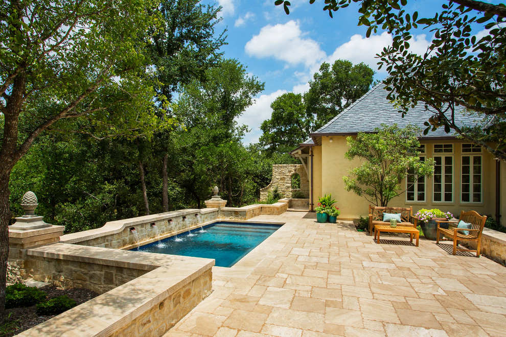 18 Wonderful Mediterranean Swimming Pool Designs That Will Mesmerize You