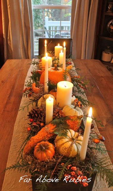 21 Beautiful DIY Fall Centerpiece Ideas