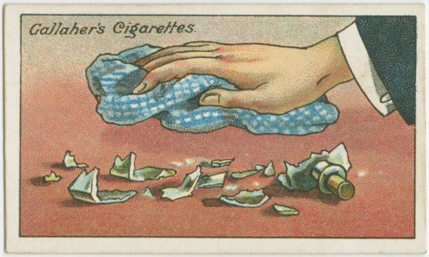 20 Genius Vintage Life Hacks From The 1900s That Are Still Applicable Today (Part 2) - vintage, tips, life hacks, life, how to do it, hints, hint, hacks, hack, Gallaher's Cigarettes, gallaher, do it yourself, diy, crafts, 1900s