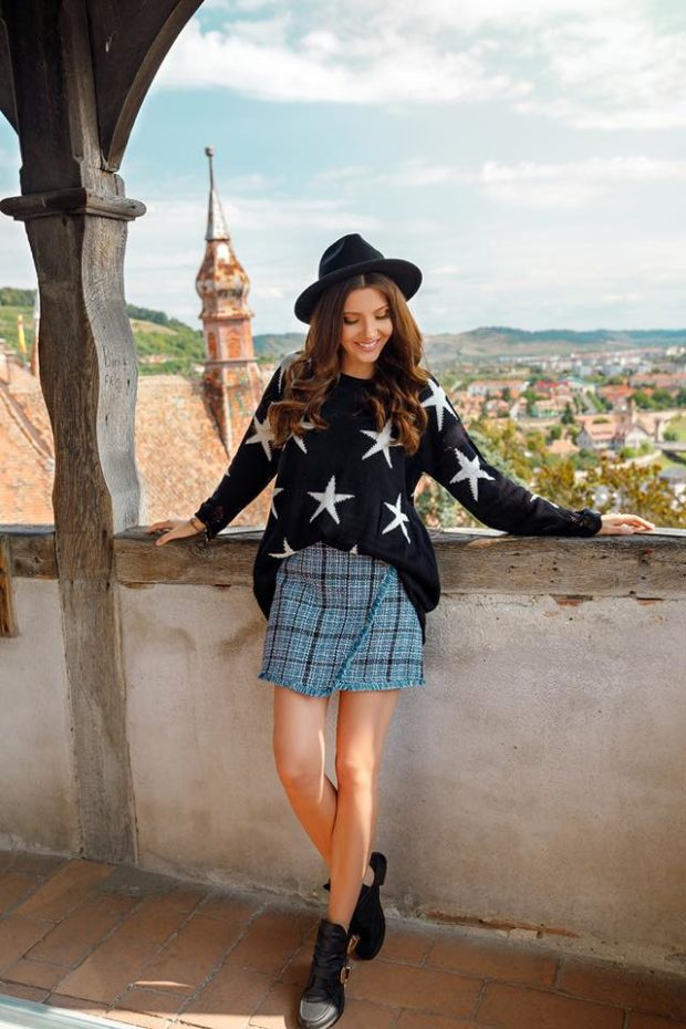16 Trendy Looks for Fall with Dresses and Skirts
