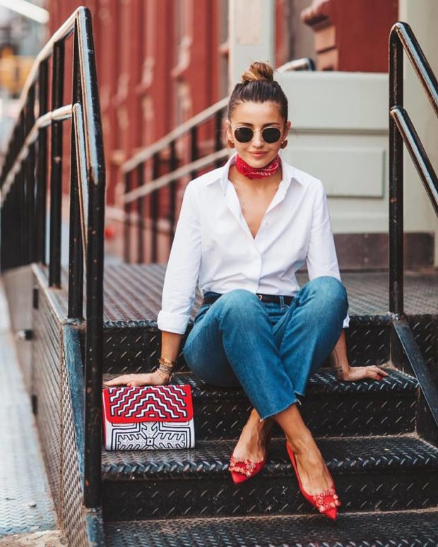 Shirts for Fall 2017: 16 Stylish Outfit Ideas to Inspire You