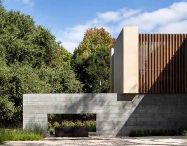 Four Staggered Volumes Form The Atherton Avenue Residence by Arcanum Architecture - residence, luxury, interior, house, home, grand, exterior, enormous, contemporary, california, Atherton Avenue Residence, Atherton, Arcanum Architecture