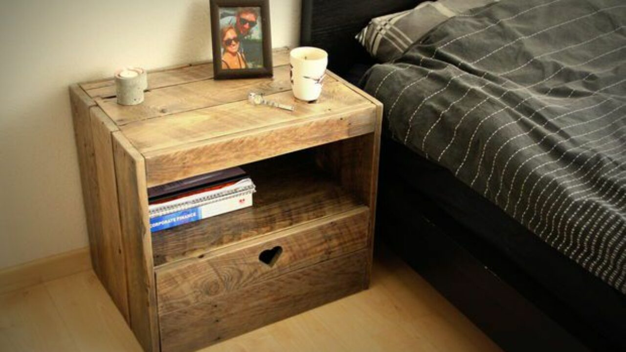 15 Creative And Easy Diy Nightstand Projects Style Motivation
