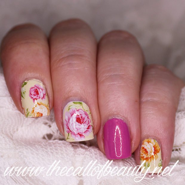 17 Floral Nail Art Ideas Perfect for Fall