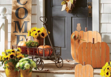 Welcome Fall: 16 Amazing DIY Fall Porch Decorating Ideas - fall porch decor, DIY Porch Decor Ideas, DIY Fall Porch Decorating Ideas, DIY Fall Porch, diy fall decor, DIY Fall Centerpiece, diy fall