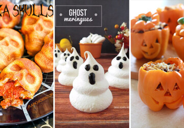 15 Spooky And Sweet Halloween Snacks You Can Easily Make For Your Party - witch, sweets, spider, snacks, snack, skull, skeleton, scary, sandwiches, sandwich, pretzels, pop, pizza, party, mummy, marshmallow, halloween, ghost, Cupcakes, cupcake, Cookies, candy