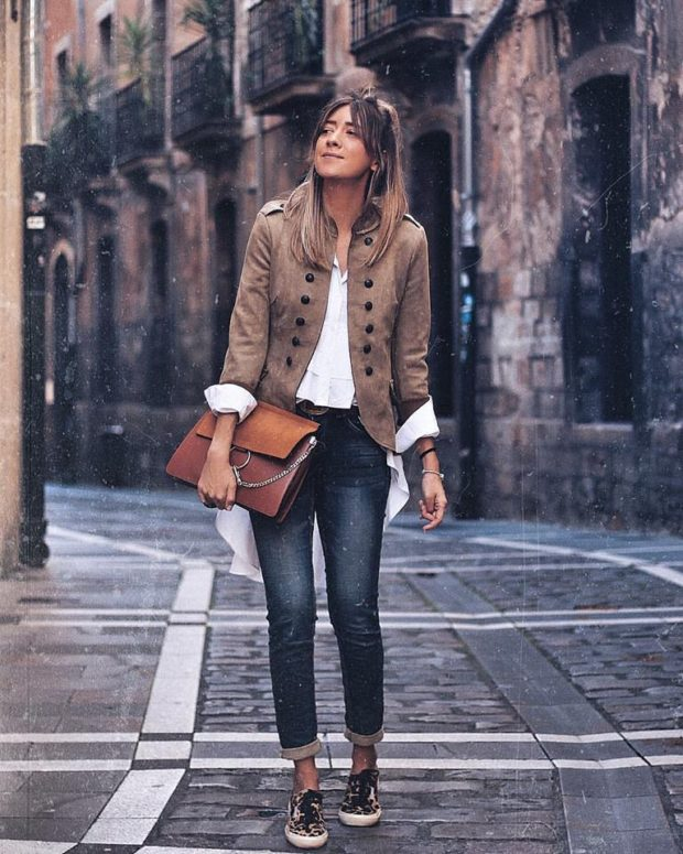 Trendy Jackets for Fall 2017  15 Stylish Outfit Ideas