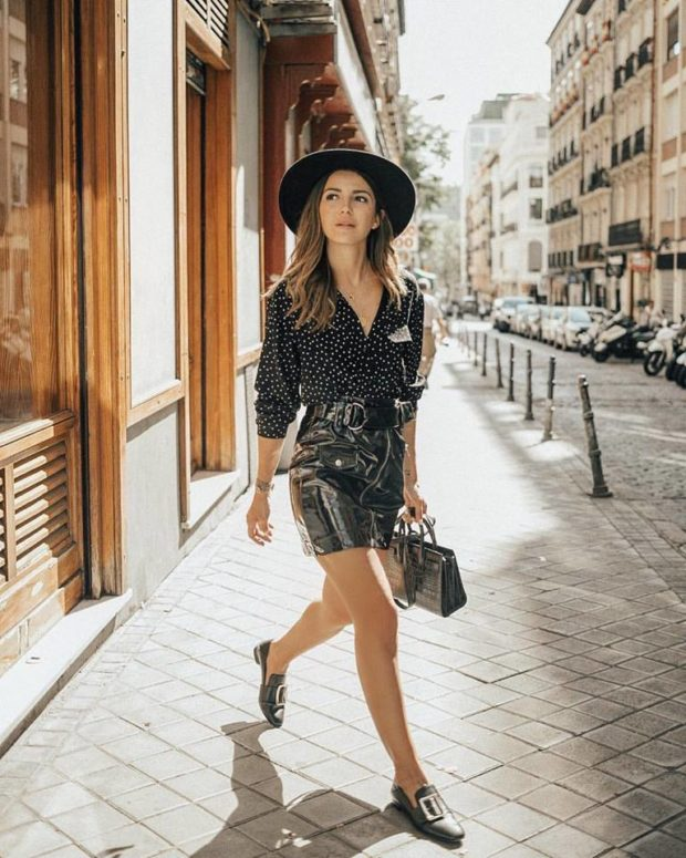 15 Street Style–Inspired Ways to Wear a Mini Skirt This Fall