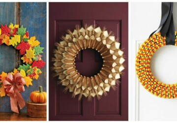 15 Amazing DIY Fall Wreaths - handmade fall wreath, fall wreath, diy fall wreath