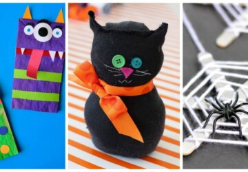 16 Creative and Fun Halloween Crafts for Kids - halloween kids crafts, Halloween Crafts for Kids, halloween crafts