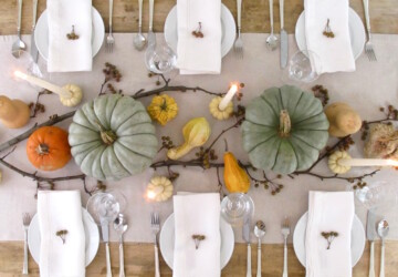 18 Creative and Easy  DIY Thanksgiving Decorating Ideas - DIY Thanksgiving Wreaths, diy thanksgiving decorations, DIY Thanksgiving Decorating Ideas, DIY Thanksgiving Centerpiece, DIY Thanksgiving