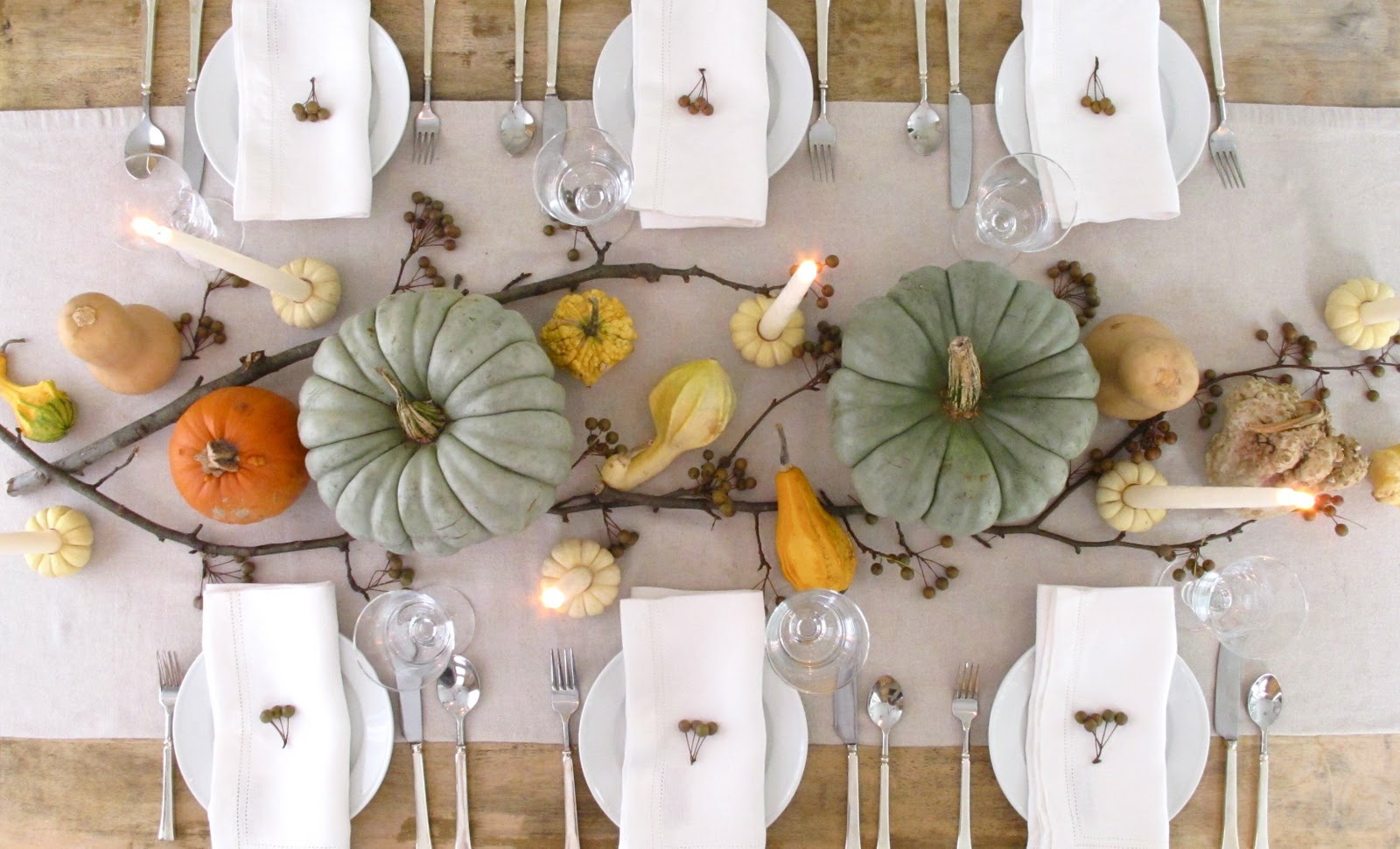 18 Creative And Easy DIY Thanksgiving Decorating Ideas   Style Motivation