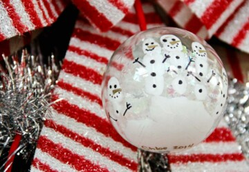 17 Easy DIY Christmas Tree Ornaments Your Kids Will Love - diy ornaments, diy christmas tree ornaments, Diy Christmas, Christmas Tree Ornaments, Christmas ornaments