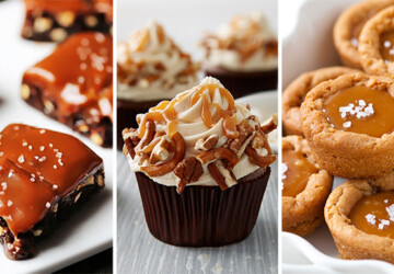 16 Salted Caramel Desserts You'll Want to Make Right Now - Salted Caramel Desserts, Salted Caramel, Desserts, dessert recipes