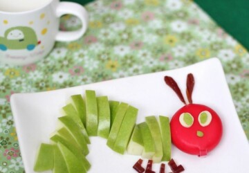 14 Creative Apple Craft Ideas Your Kids Will Love - kids, diy kids crafts, apple crafts, apple