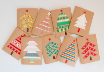 14 DIY Christmas Card Ideas to Make this Holiday Season - diy christmas cards, Diy Christmas, Christmas gifts ideas, Christmas cards, Christmas Card Ideas