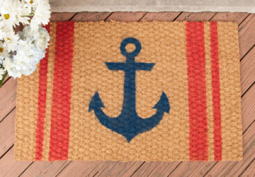 14 DIY Welcome Mats That Will Jazz Up Your Front Porch - DIY Welcome Mats, DIY Porch Decor Ideas, diy porch, DIY Mats