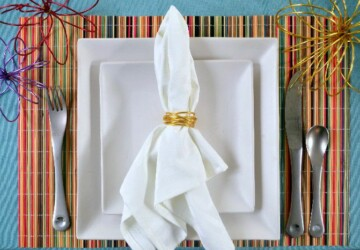 Thanksgiving Dinner Table Decor: 16 DIY Napkin Ring Ideas - Thanksgiving table settings, thanksgiving table decoration, Napkin Ring, diy thanksgiving decorations, DIY Thanksgiving, DIY Napkin Ring Ideas