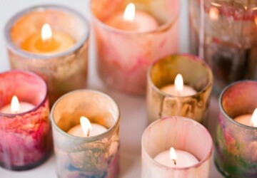 12 Simple and Easy DIY Candles And Votives - DIY Votives, DIY Home Decor Projects, diy home decor, diy home accessories, DIY Candles And Votives, DIY candles