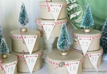 14 Creative DIY Christmas Advent Calendars - diy Christmas decorations, diy christmas decor projects, DIY Christmas Calendars, DIY Christmas Advent Calendars, Diy Christmas, Christmas Advent Calendars