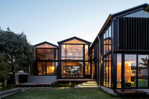 5 Exterior Home Design Lessons That Everyone Should Know - yard, windows, roof, lessons, facade, exterior, entrance
