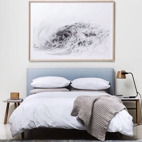 4 Things Every Bedroom Absolutely Must Have - mattress, large mirror, bedroom art, bedroom