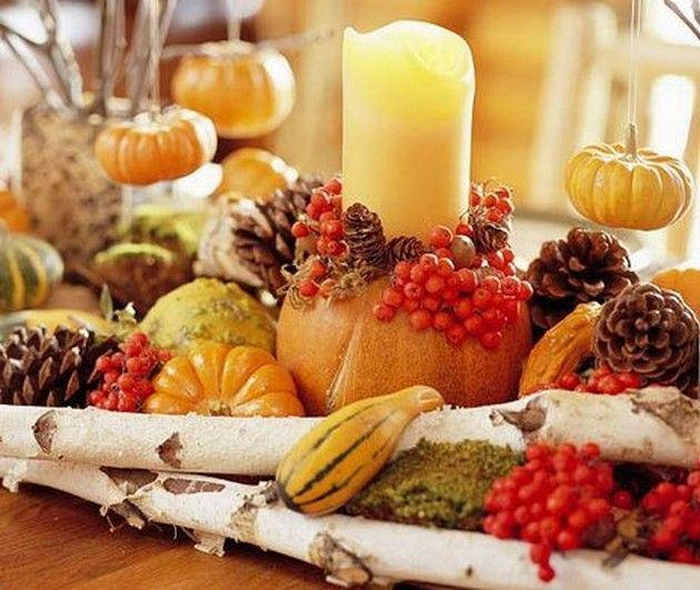 Hgtv Thanksgiving Decorations: 15 Totally Easy Last Minute DIY Thanksgiving Centerpiece