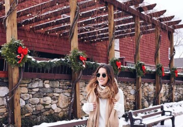 Cute Winter Outfits - 18 Outfit Ideas for Cold Weather - winter outfit ideas with boots, winter outfit ideas, winter outfit, Next-Level winter Outfits