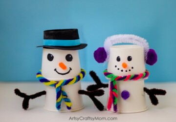 15 Cute Snowman Craft and Food Ideas - Winter Kids ideas, winter food, Winter Craft Ideas, snowman crafts, snowman, diy snowman, 15 Cute Snowman Craft and Food Ideas