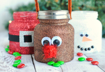 14 Cute Christmas Reindeer Craft and Food Ideas Kids will Love - diy christmas decor projects, diy christmas decor, Christmas Reindeer Craft and Food Ideas, Christmas Reindeer Craft, Christmas Reindeer, Christmas Craft and Food Ideas
