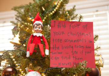 DIY Christmas Decor: 15 Funny Elf on the Shelf Ideas - Elf on the Shelf Ideas, elf, DIY Christmas Gifts, diy christmas decor, Diy Christmas