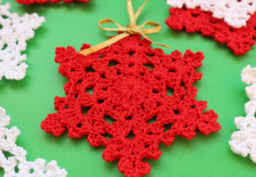 16 Creative DIY Crochet Christmas Ornaments - DIY Crochet Christmas Ornaments, diy crochet, Diy Christmas ornaments, Christmas ornaments, Christmas Ornament