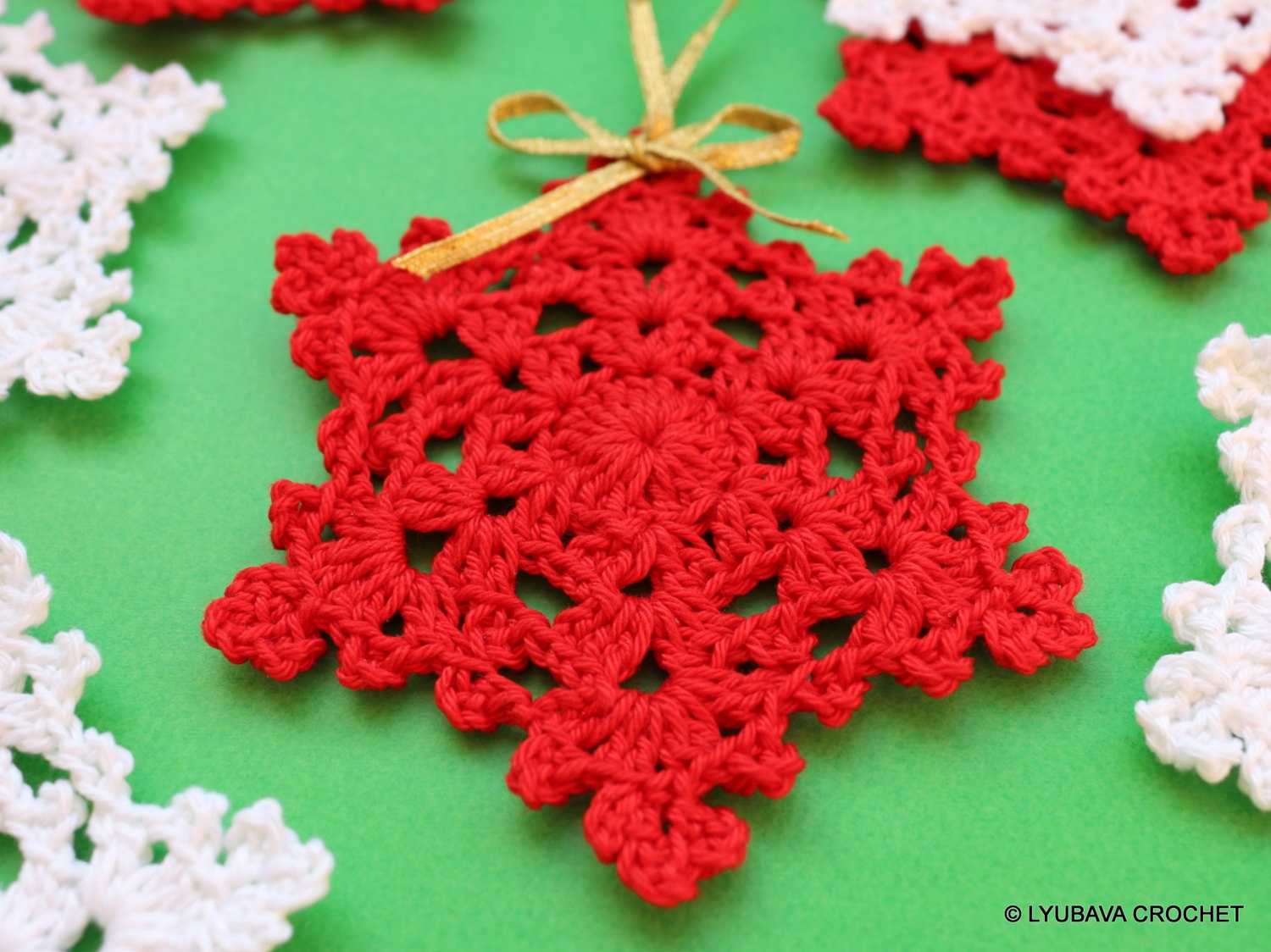 16 creative diy crochet christmas ornaments style motivation
